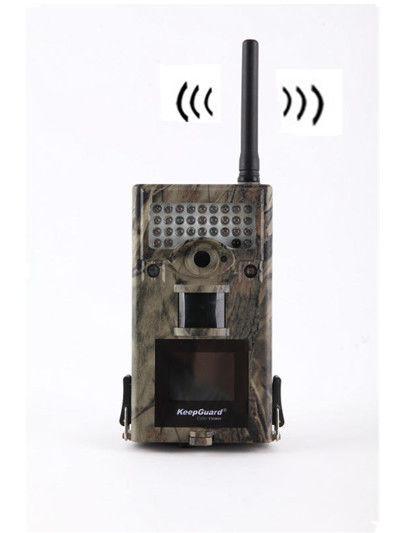 IP54 Waterproof Wireless Scouting Camera Motion Detection with 2.4 Inch Display
